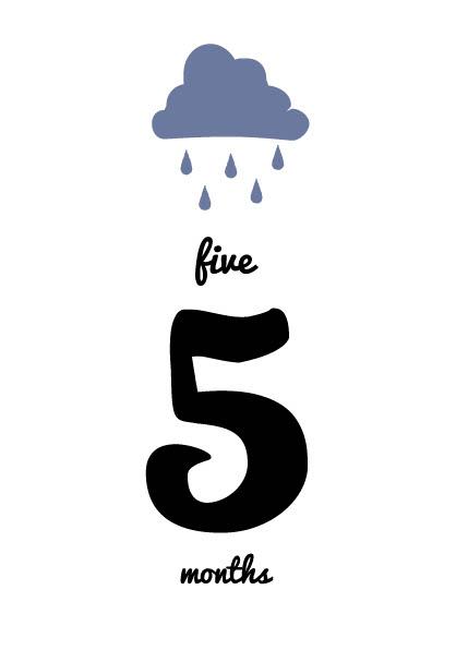 無料月齢カード_天気_雨
