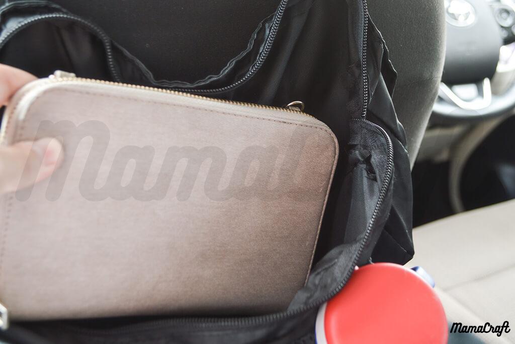 多機能シートバッグ 大小5つのポケットで使い方色々!