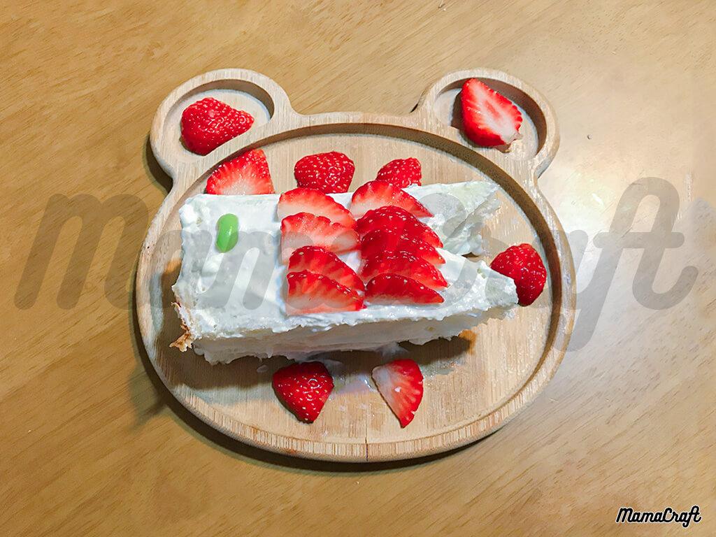 1歳の子どもの日デザート!こいのぼりケーキ