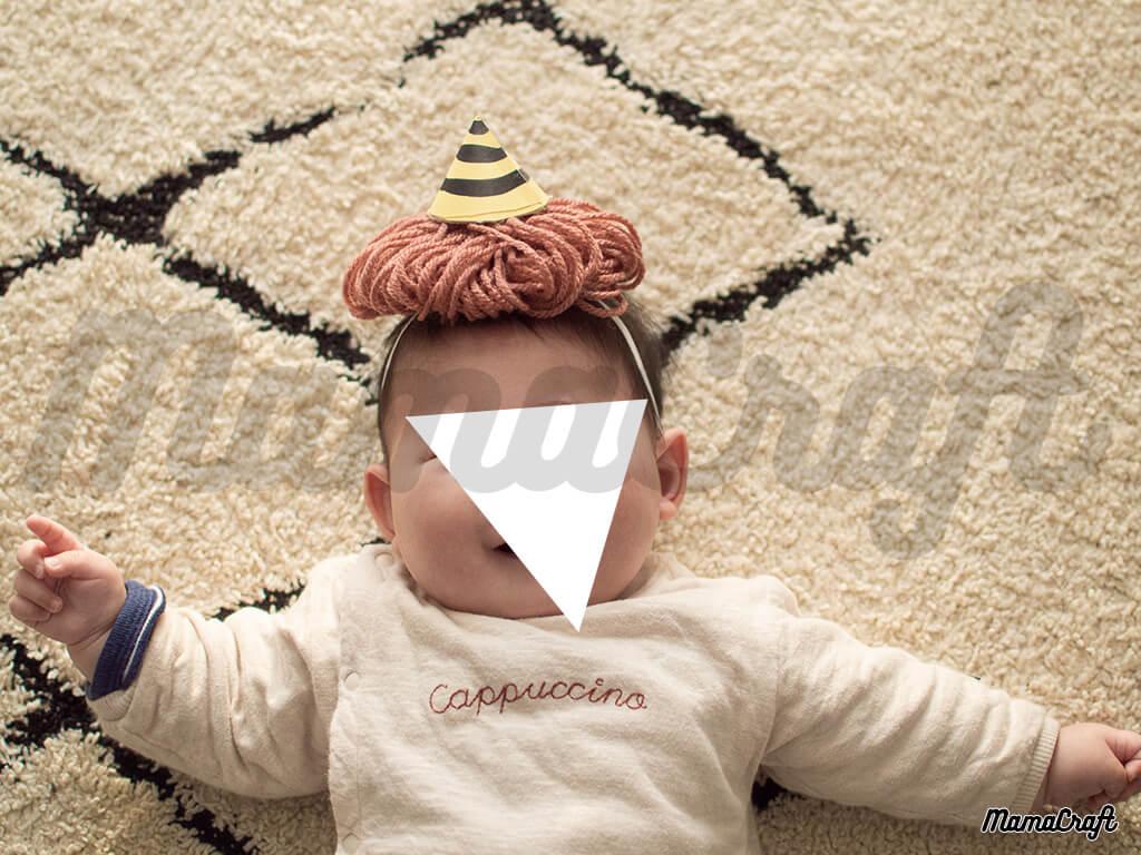 【節分製作】毛糸でカンタン!編まない鬼の帽子づくり