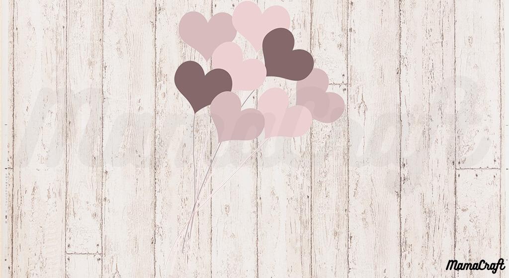【バレンタイン】DLしてメッセージ画像を作ろう!ブラウンバージョン